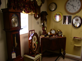 Turnersville Shop Various Clocks