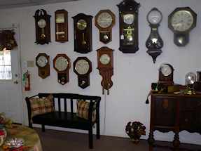 Turnersville Shop Wall Clocks