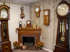 Turnersville Shop Grandfather and Wall Clocks