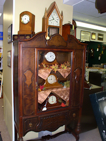 Turnersville Shop Mantel Clocks