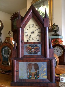 Double Decker Steeple Clock for Sale