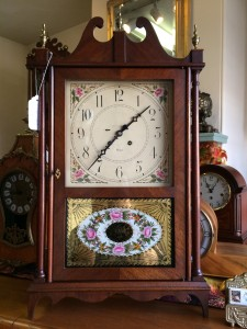 Chelsea 3/4 Pillar and Scroll Clock for Sale