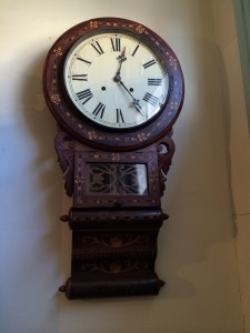 Anglo-American Wall Clock for Sale