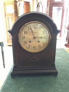 J. E. Caldwell Mantel Clock with Chelsea Movement