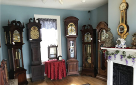 Clock Showroom in Haddonfield