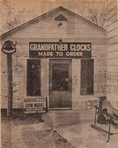 Hugh's Clock Shop original building