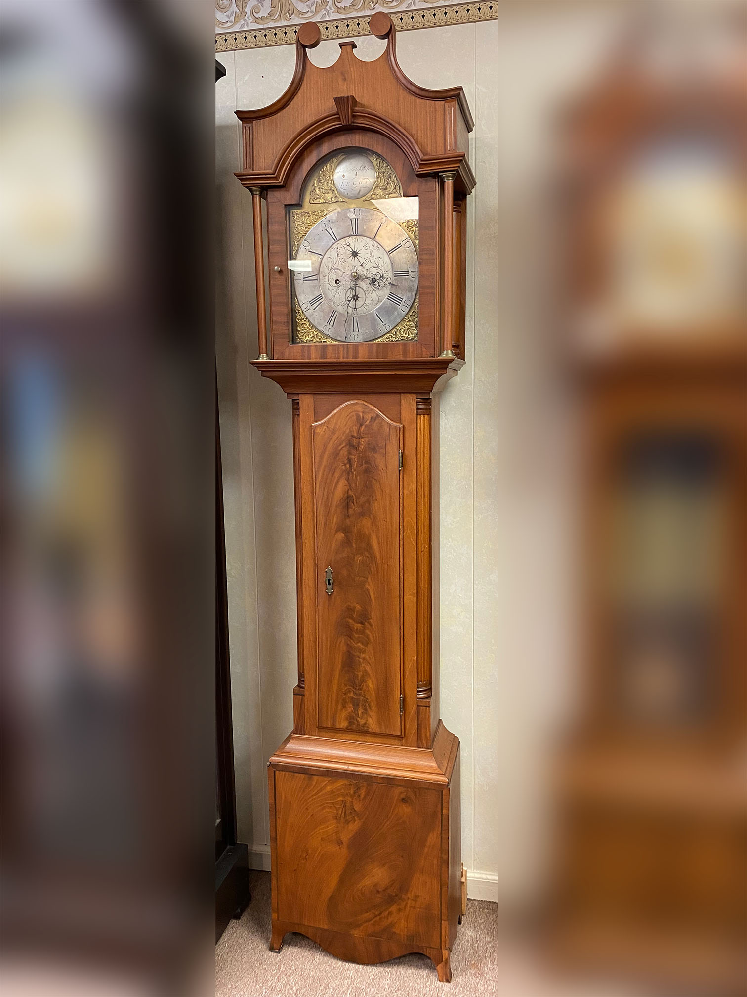 Chippendale Tall Case Clock