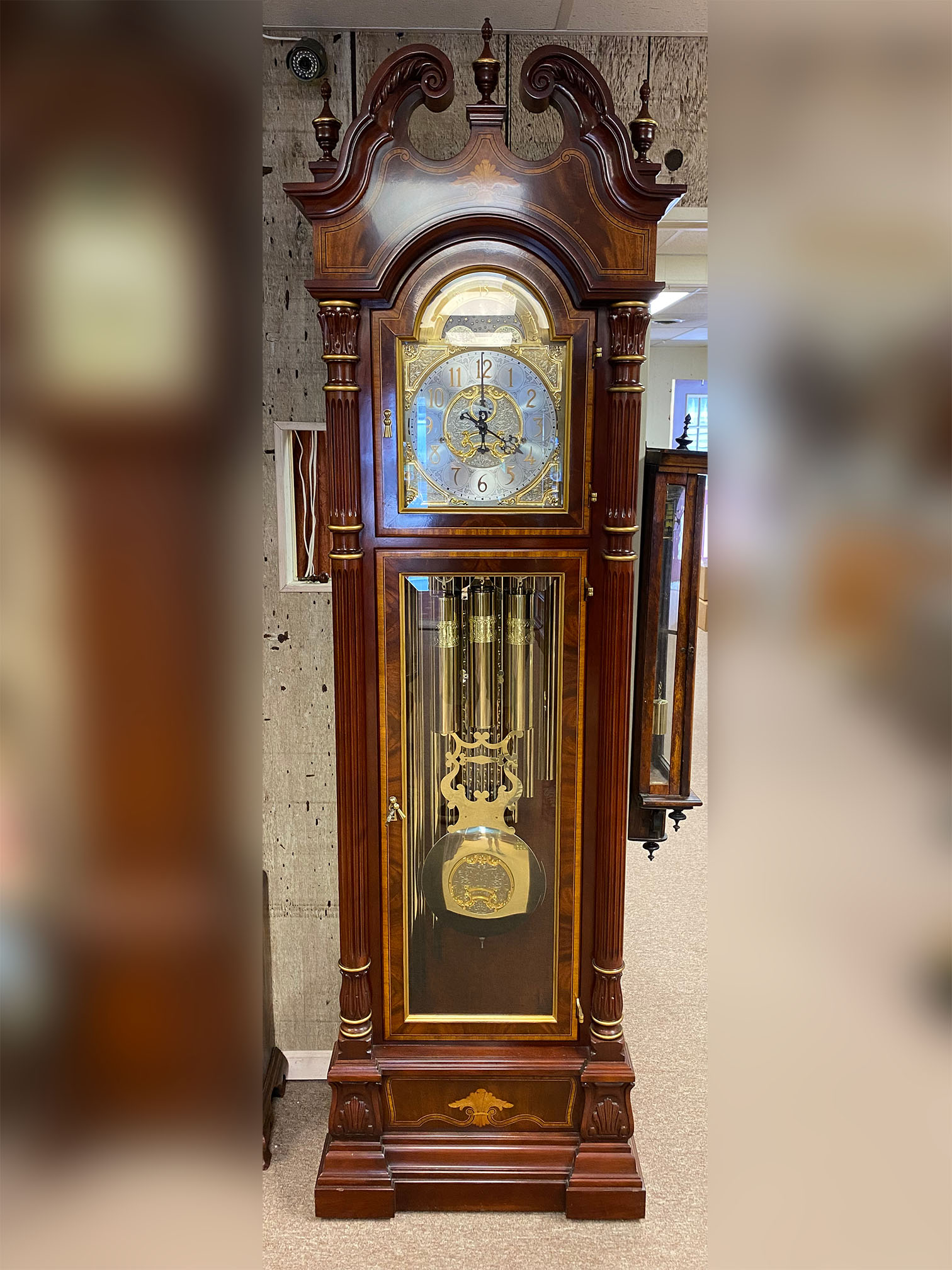 Charles R. Sligh Tubular Bell Hall Clock
