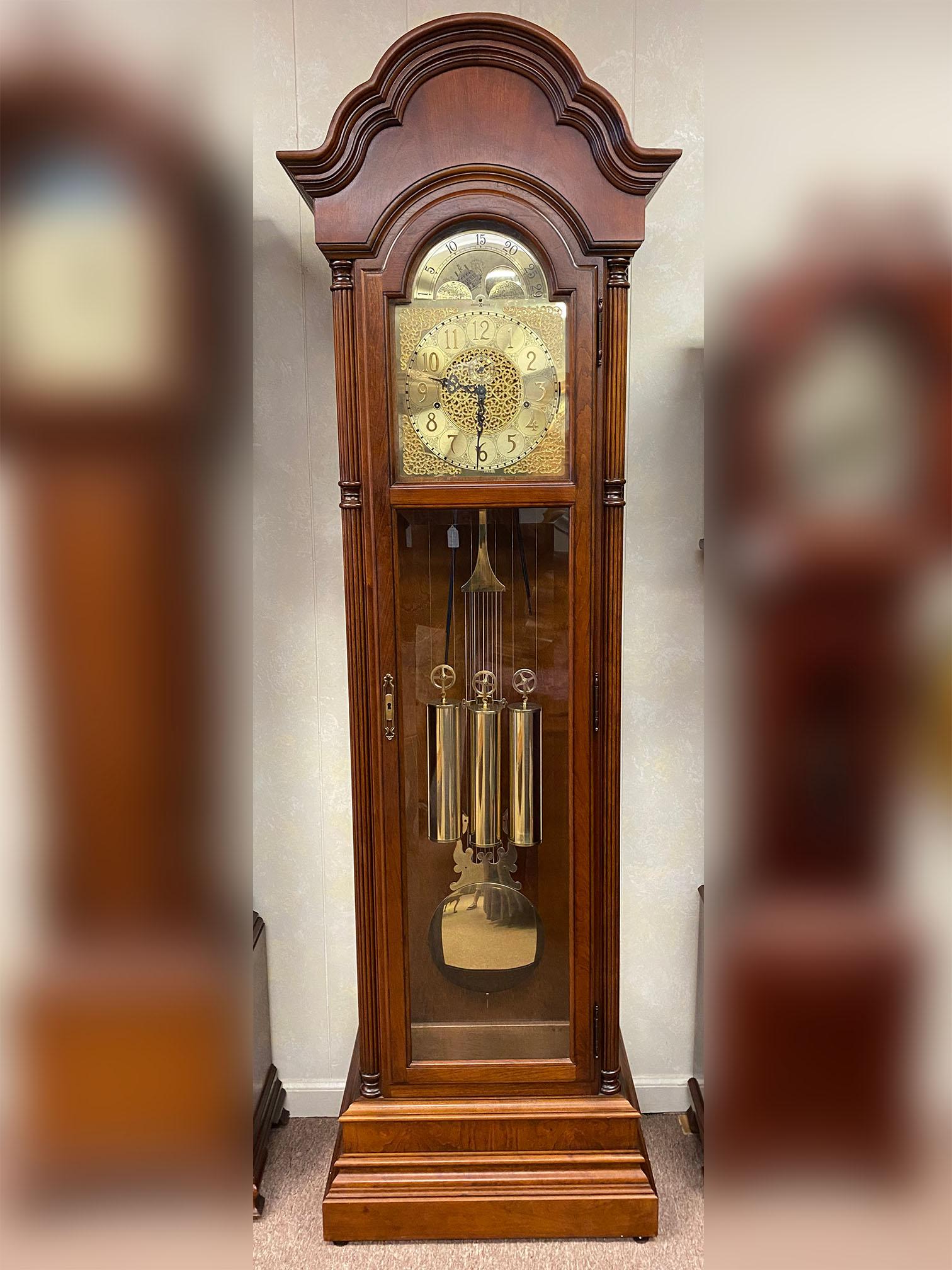 Howard Miller Cherry Grandfather Clock