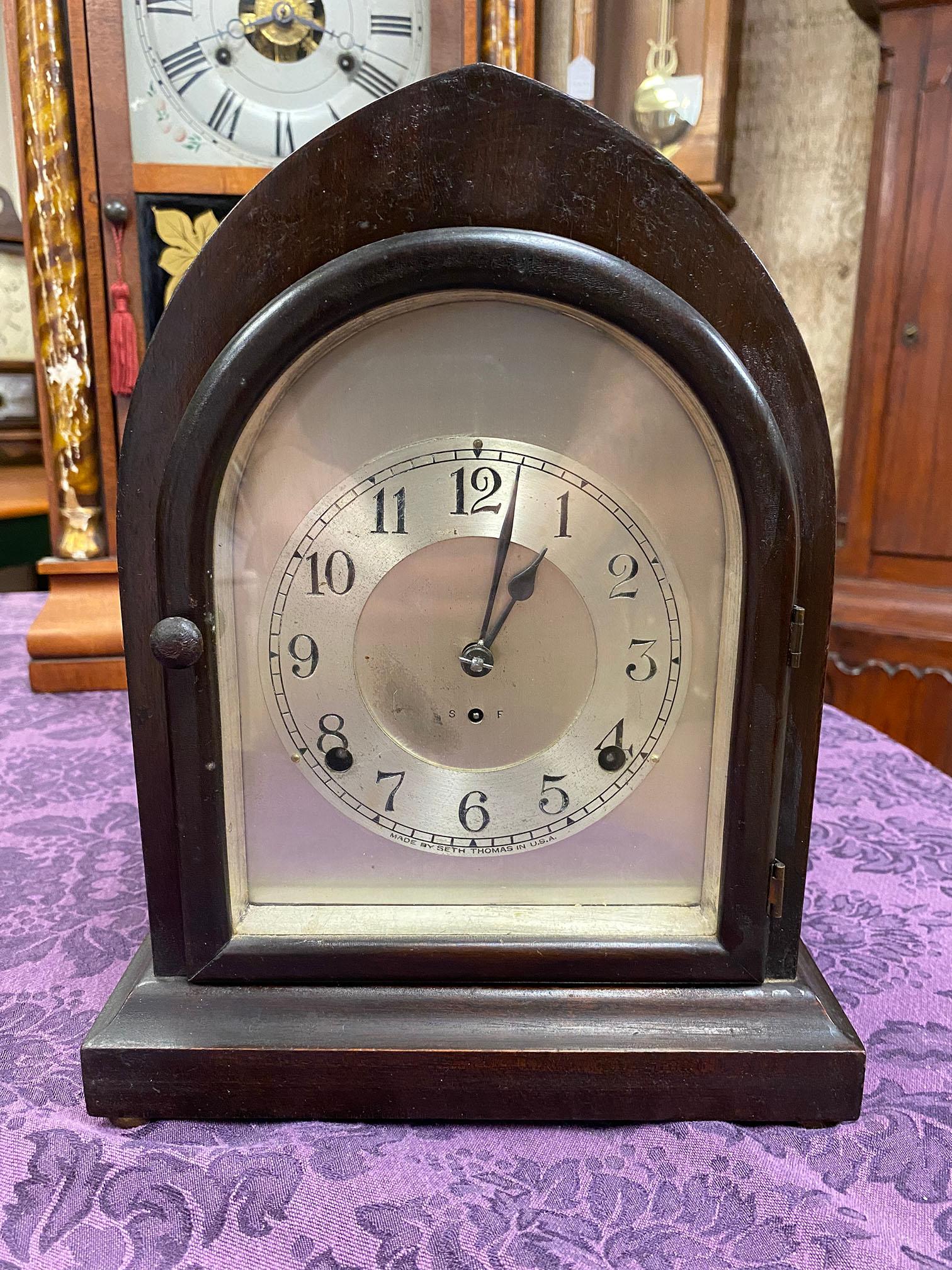 Seth Thomas Beehive Mantel Clock