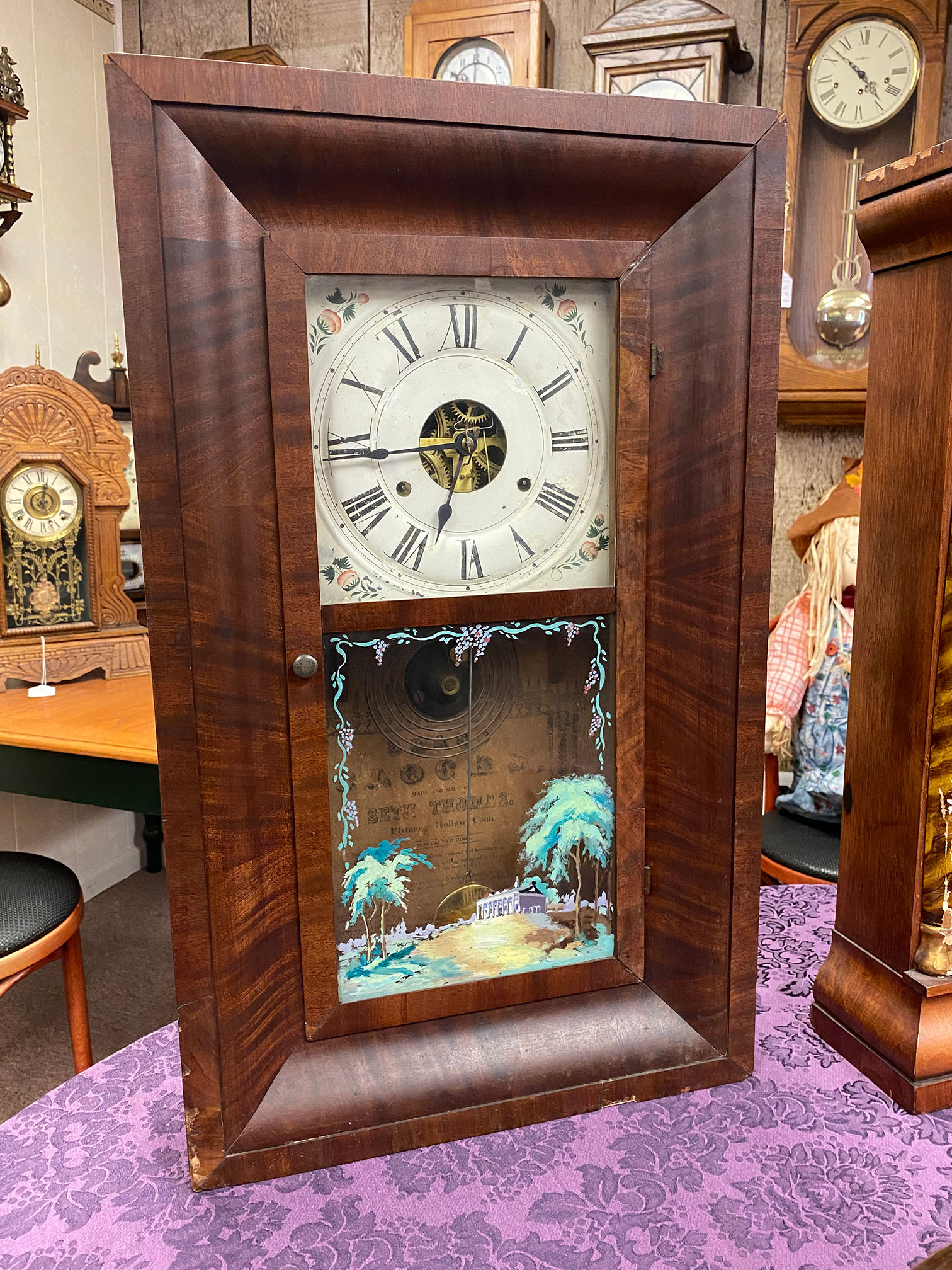 Seth Thomas Weight-Driven Ogee Clock