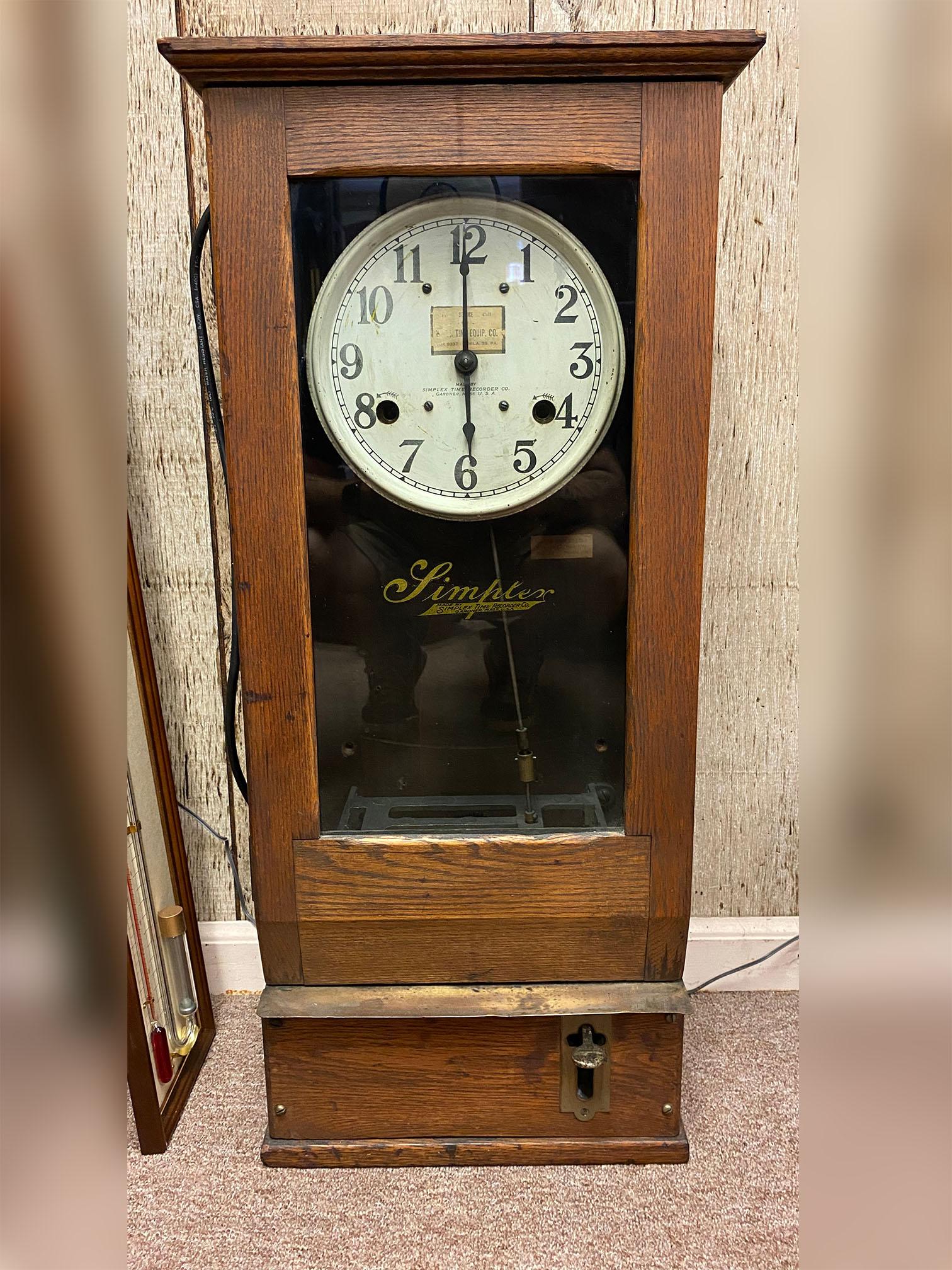 Simplex Punch Time Clock