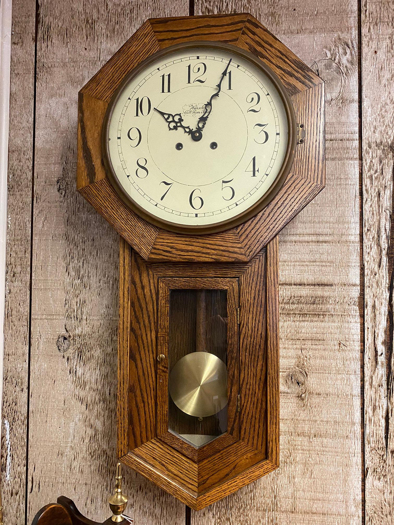 Weursch Schoolhouse Wall Clock