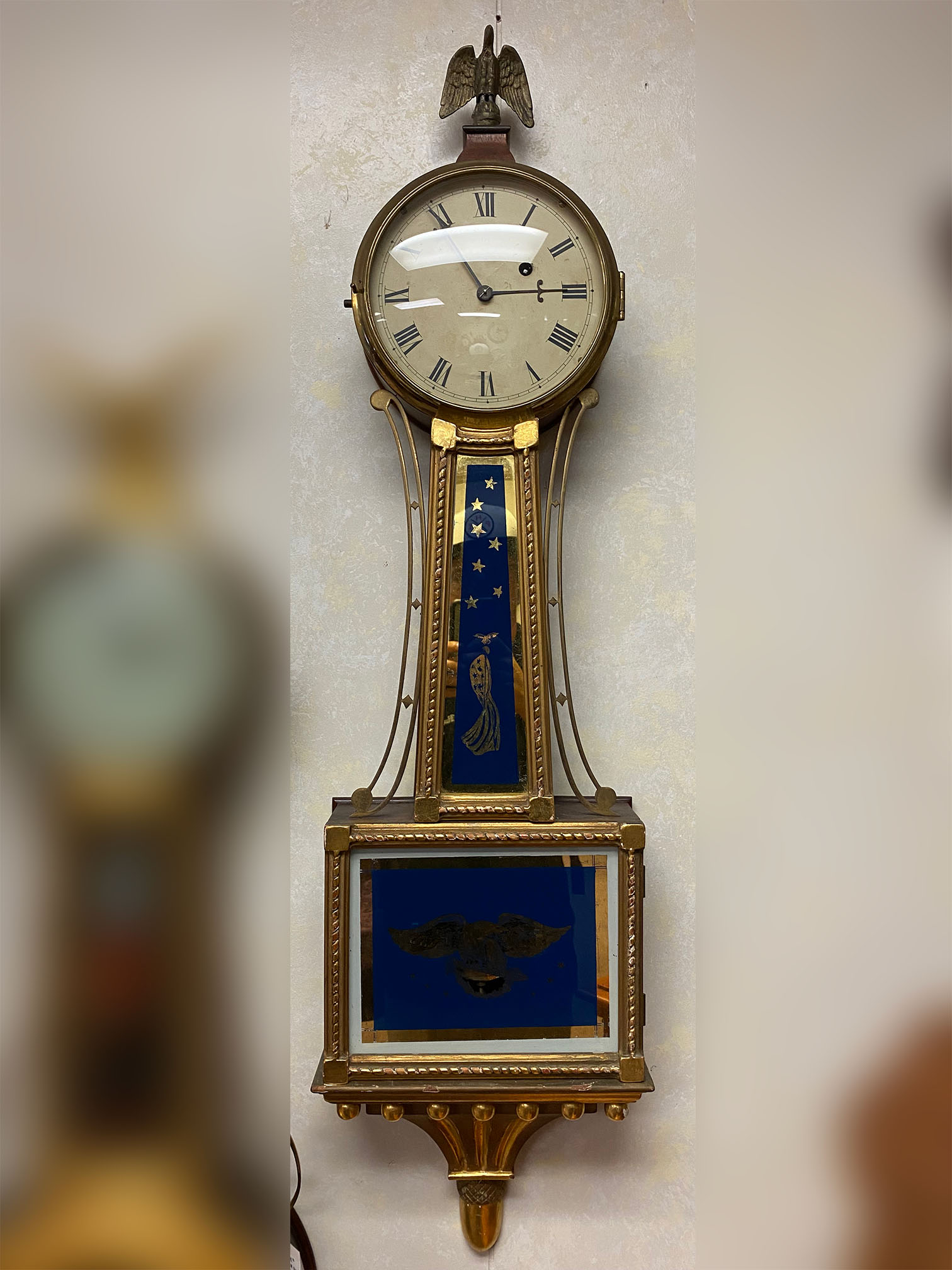 Willard-style Banjo Clock